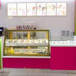 Дизайн магазина замороженных йогуртов Yogurt Frenzy