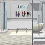 Дизайн-проект магазина для детей Biba