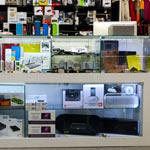 Дизайн магазина аксессуаров для мобильных телефонов