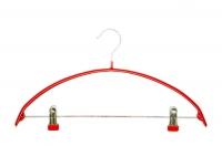 MPVC750 Вешалка универсальная с зажимами Д42 см прорезиненная красная