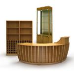 Мебель для винных магазинов «Лоза»